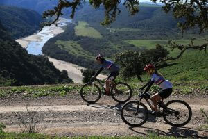 Mountain bike route wester cape